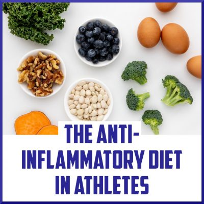 the anti inflammatory diet in athletes cover