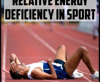 Relative Energy Deficiency In Sport cover