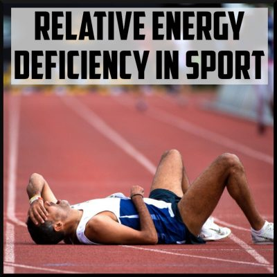 Relative Energy Deficiency In Sport cover