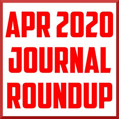 april 2020 journal roundup cover
