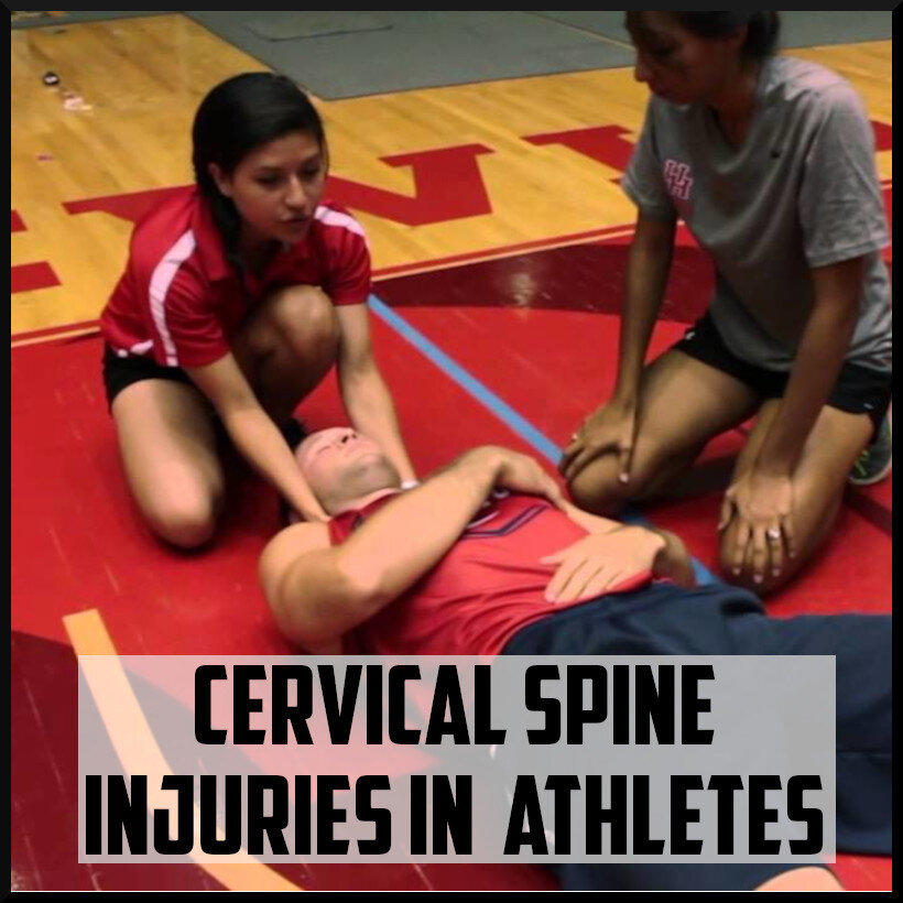 cervical spine injuries in athletes cover