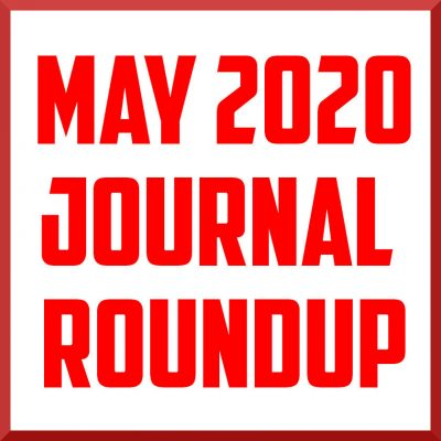 may 2020 journal roundup