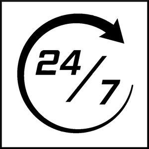 24/7 availability illustration