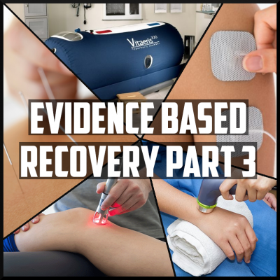 evidence based recovery part 3 acupuncture, ultrasound, electrical stimulation, laser therapy, hyperbaric oxygen
