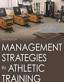 Management Strategies in Athletic Training book konin ray