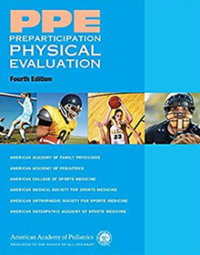 PPE Preparticipation Physical Evaluation book