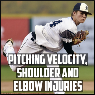 Pitching velocity shoulder and elbow injuries