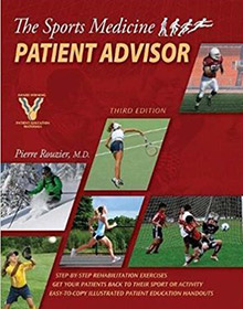 The Sports Medicine Patient Advisor book
