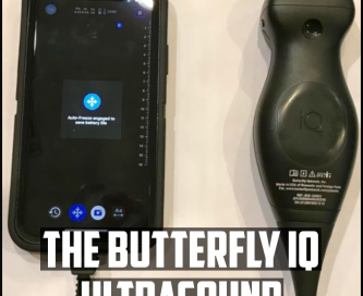 the butterfly IQ ultrasound cover