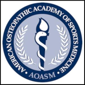 american osteopathic academy of sports medicine logo