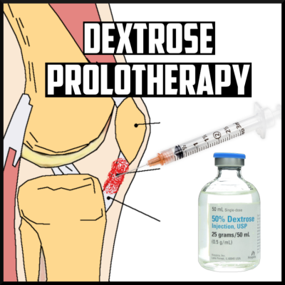 Dextrose prolotherapy cover