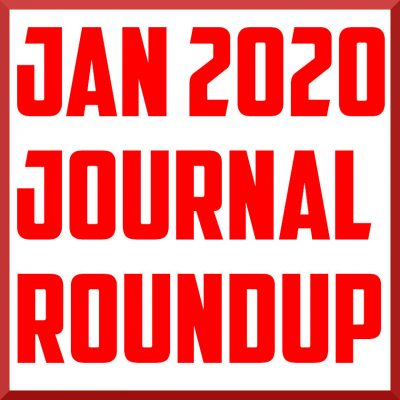 january 2020 journal roundup