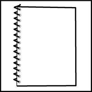 notepad illustration