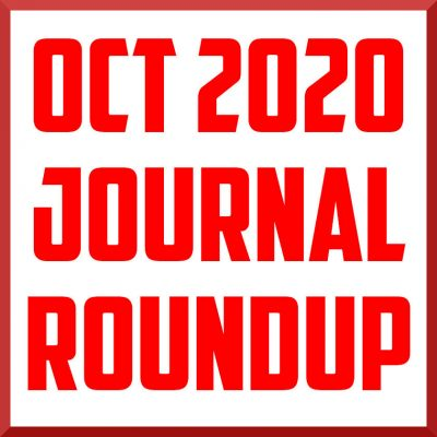 October 2020 Journal Review Roundup