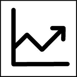 performance graph illustration