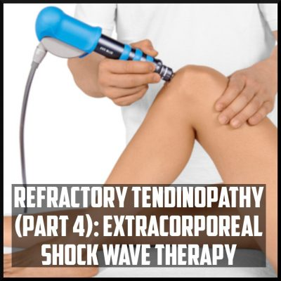 refractory tendinopathy extracorporeal shock wave therapy cover