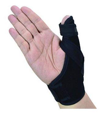 thumb spica splint brace