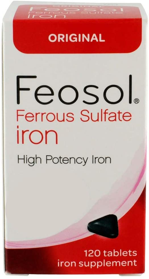 Example of iron supplement