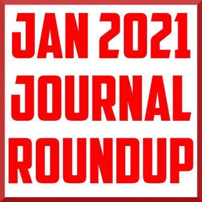 january 2021 sports medicine journal roundup