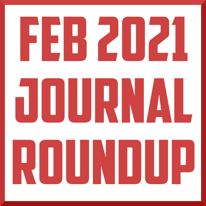 february 2021 sports medicine journal roundup cover