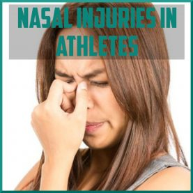 nasal injuries in athletes cover