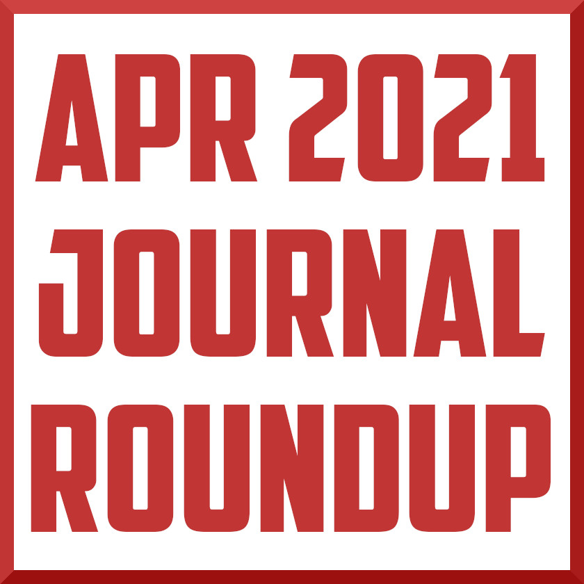 april 2021 sports medicine journal review roundup