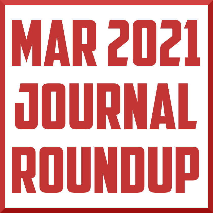 march 2021 sports medicine journal roundup review