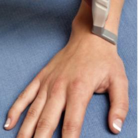 Dorsal wrist ultrasound positioning