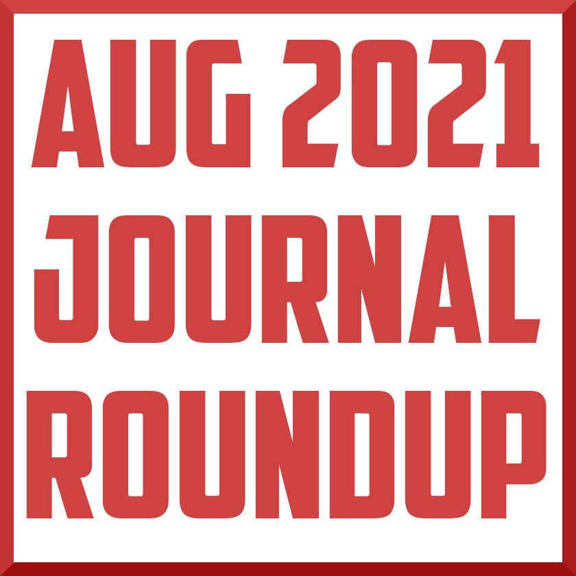 August 2021 Sports Medicine Journal Roundup