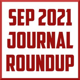 September 2021 Sports Medicine Journal Roundup